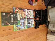 Xbox 360 Games And Controllers Comes With Kinect Sensor 6 Games 2 Controllers