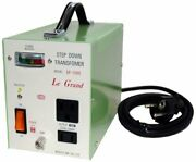 Nissyo Transformer Ac220/240v To Ac100v 1500w Deluxe Type Sp Series Sp-1500