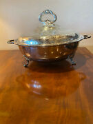 Estate Silverplate Covered Buffet Server Bowl/dish Sheffield England