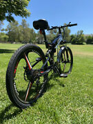 21 Speed 350w 26and039and039 Electric Bike E-bike Mountain Bicycles City Folding Cycling