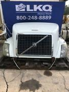 White 2004 And Up Volvo Vnl Gen 2 Hood Assembly W/ Headlamps Grille And Mirrors