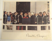Swearing In Of President Ronald Reagan On 1981 Inauguration Day 8x10 Photo