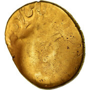 [489748] Coin Ambiani Stater Au55-58 Gold Delestrandeacutee236-8