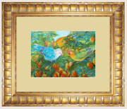 Original Art Painted By Nian Lrel Fixed Selection Frame For Each Artwork