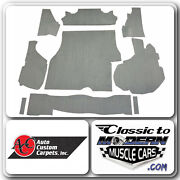 84-87 Buick Regal Trunk Carpet Kit Material Cutpile W/grand National Logo Choice