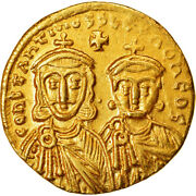 [489920] Coin Constantine V And Leo Iv Solidus Constantinople Gold