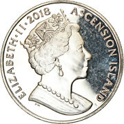 [787614] Coin, Ascension Island, Crown, 2018, Pobjoy Mint, Ms63, Cupro-nickel