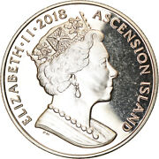 [787616] Coin, Ascension Island, Crown, 2018, Pobjoy Mint, Ms63, Cupro-nickel