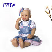 22and039and039 Hair Silicone Girls Waterproof Doll Full Body Silicone Skeleton Doll Ivita