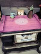Farmhouse Mandala Flower Stove Cover - Choose Oven Sink Or Serving Tray Option