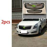 Fit For 2018-2020 Cadillac Xts Abs Black Front V-sports Grille Grill Cover Trim
