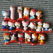 Hello Kitty Choco Egg Collaboration Figures Full 19 Set Free Shipping Rs