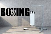 Boxing Boxer Ring Referee Knockout Fight Hit Wall Vinyl Decal Art Design Tk287