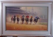 G. Harvey Test Of Champions Signed Numbered Matted And Framed Print