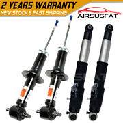 4pcs Front Rear Air Suspension Ads Shock For Cadillac Escalade 23487280 580-435