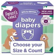 Parentand039s Choice Disposable Diapers Size Newborn 1 2 3 4 5 6 7 Fast Ship