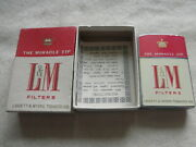 Real Nice 1950s Landm Cigarette Lighter 2 Sided In Orginal Box With Instructions