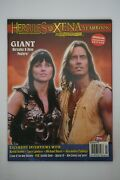Hercules And Xena Yearbook 1998 Topps Publishing Giant Posters Included