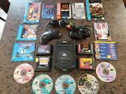 Sega Genesis Cdx Console With 9 Games 6 Button Controller Tested And Works Sonic