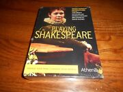 Playing Shakespeare Dvd, 2009, 4-disc Set Brand New Sealed Rare Oop Fast Ship