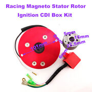 Red Magneto Stator Rotor Ignition Cdi Box Kit For Chinese Lifan Yx Motor Parts