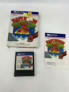 Raft Rider Atari 2600, 1982 Complete In Box Tested And Working