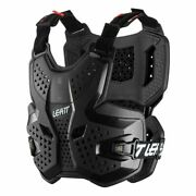 New Leatt 3.5 Chest Protector Black Adult Roost Motocross Body Armour Bmx Mtb