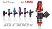 Injector Dynamics 1300x Injectors 60mm 11mm Blue Top Denso Lower Set Of 8
