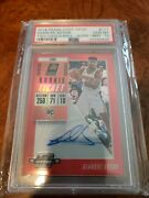 2018 Panini Contenders Deandre Ayton Rookie Red Refractor Auto Psa 10 Only 99