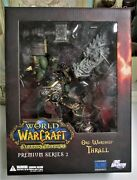World Of Warcraft Action Orc Warchief Thrall Premium Series 2 Nib