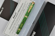 Pelikan M800 Old Style Transparent Green Collectorand039s Limited Edition 511/3000