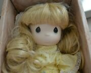 Precious Moments Porcelain Bisque Doll Summers Joy Four Seasons Vintage 90s 13in