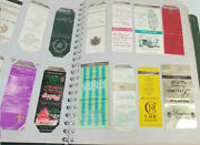 1950's And 1960's Matchbook Cover Collection In Book Over 475