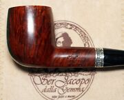 New And Unsmoked Ser Jacopo Domina 2004 L1 Billiard Special Runic Silver Bands 57