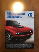 2017 Challenger Performance Accessories And Dodge Charger Poster Combo