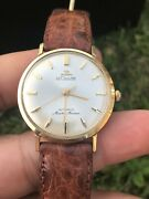 Jaeger Lecoultre Master Mariner Solid 14k Gold K882 Automatic Vintage 33mm Watch