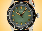 Oris Divers Sixty-five Momotaro Jeans Special Edition Stainless Steel Watch