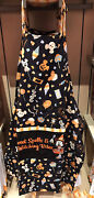 Disney Parks Halloween 2020 Minnie Mouse Sweet Spells Witch Kitchen Adult Apron