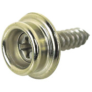 8 X 5/8 In. Button Stud With Tapping Screw 100-pack