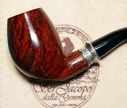 New Unsmoked Ser Jacopo Domina 2000 L1 Inclined Billiard Special Silver Band 170