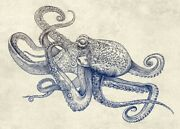Art-print-caldwell-animals-octoflow-on-paper-canvas-or-framed