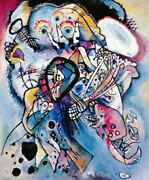Art-print-kandinsky-abstract-two-ovals--1919-on-paper-canvas-or-framed