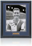 Ronnie Clayton Hand Signed 16x12and039and039 Framed Blackburn Rovers Photograph Aftal Coa