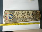 Vintage Ducks Unlimited Thermometer Metal Sign 24 X 8 Duck Marsh Hunting Usa