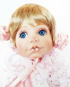 New Katelyn 24 In Seated Toddler And Bunny Kay Mckee Porcelain Doll World Gallery