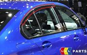 New Genuine Bmw 3 Series G20 Rear Right Door Finisher Window Frame Top 7465172