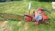 Rare Vintage Mall 1mg Chainsaw With 18andrdquo Bar Chain Saw Antique Collectible 1 Mg