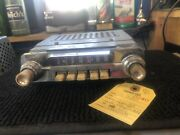 1962 Ford Fairlane Am Push Button Radio With Knobs And Faceplate