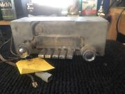1965 Plymouth Mopar Am Push Button Radio With Knobs