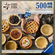 2018 Eyes For Pies Food Porn Jigsaw Puzzle, Ravensburger, 500 Pieces